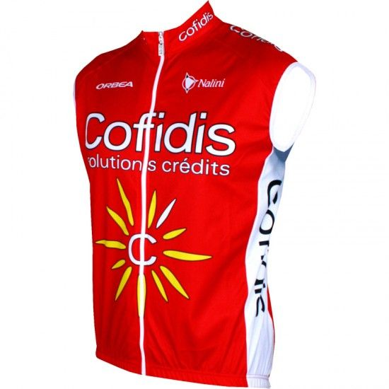 Nalini Cofidis 2016 Wind-Vest - Professional Cycling Team