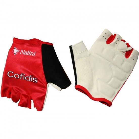 Nalini Cofidis 2018 Short Finger Gloves - Professional Cycling Team