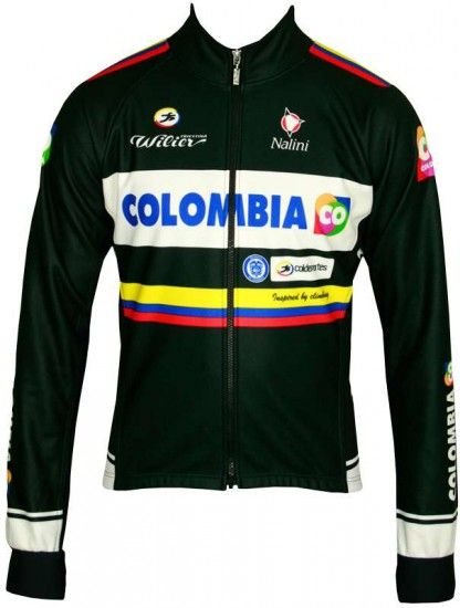 Nalini Colombia 2014 Winter Jacket - Professional Cycling Team