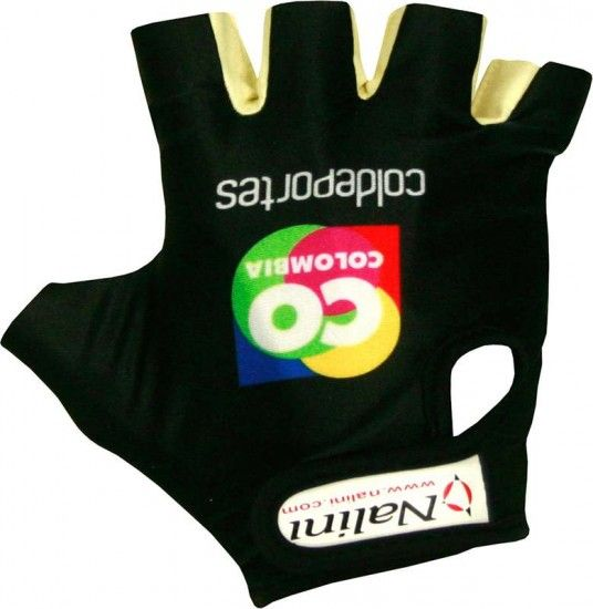 Nalini Colombia 2015 Short Finger Gloves - Professional Cycling Team