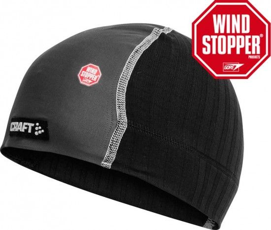 Craft Active Extreme Windstopper Under Helmet Skull Hat (1900256-9920)