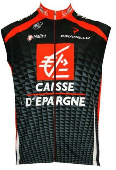 Nalini Caisse D'Epargne 2010 Professional Cycling Team - Cycling Wind Vest