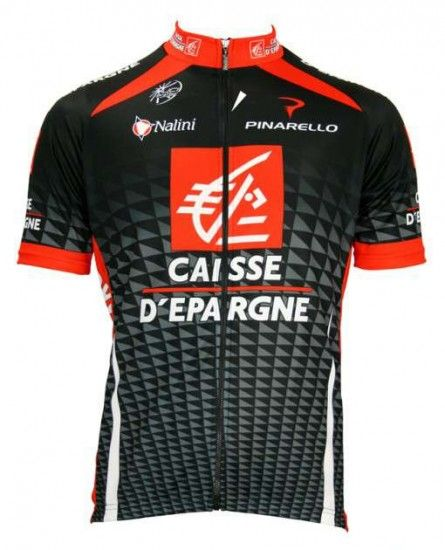 Nalini Caisse D'Epargne 2010 Professional Cycling Team - Tricot (Jersey Short Sleeve - Long Zip)
