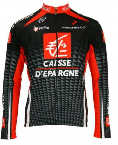 Nalini Caisse D'Epargne 2010 Professional Team - Cycling Long Sleeved Jersey