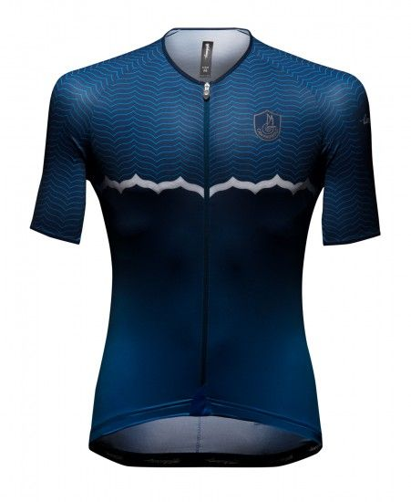 Campagnolo Quarzo Short Sleeve Cycling Jersey Blue