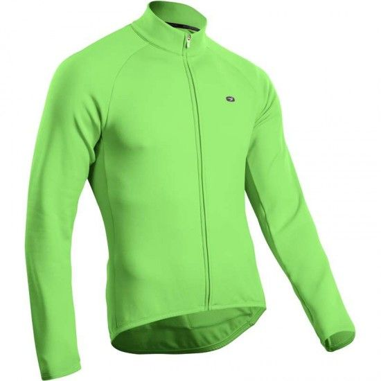 Sugoi Cannondale Classic Long Sleeve Cycling Jersey Green By
