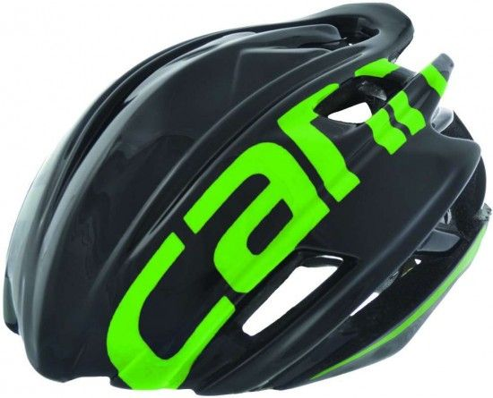 Cannondale Cypher-Aero Cycling Helmet Black/Green + Helmetbag