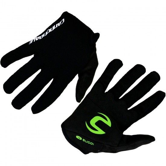 Sugoi Cannondale Factory Racing 2018 Long Finger Mtb Gloves - Professional Cycling Team