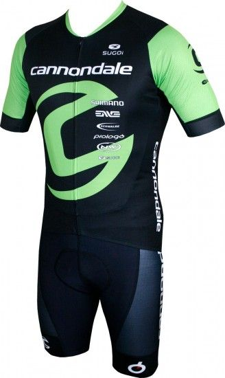 Sugoi Cannondale Factory Racing 2018 Set - (Jersey + Strap Trousers) - Professional Cycling Team