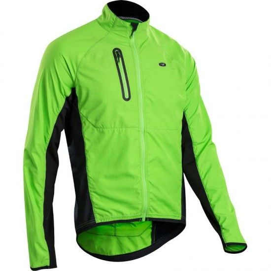 Sugoi Cannondale Rs Zap Jacket Cycling Wind-/Reflective Jacket Green By