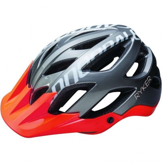 Cannondale Ryker Am Cycling Helmet Grey/Red