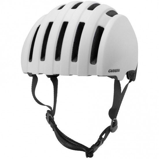 Carrera Precinct Cycling Helmet Matte White Black