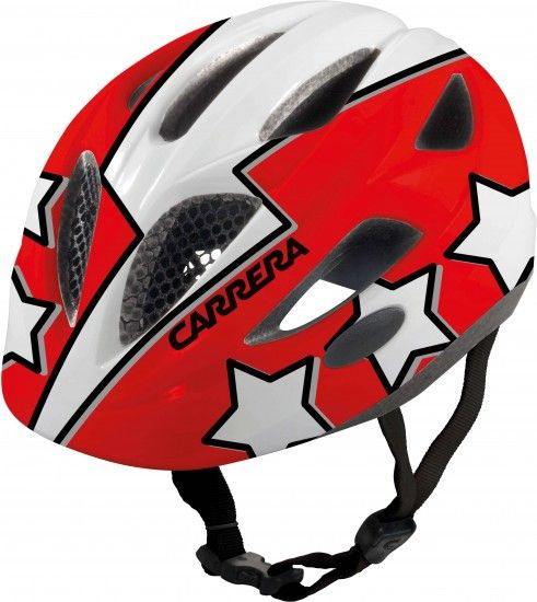Carrera Children Cycling Helmet Boogie Red Flash