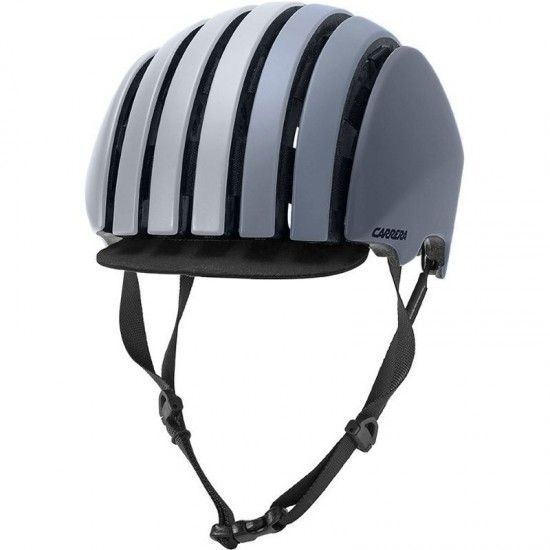 Carrera Cycling Helmet Foldable Crit Gray Matte