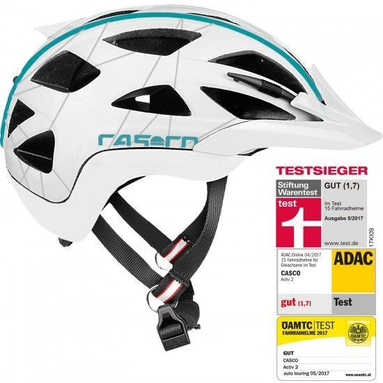 Casco Activ 2 Femme Cycling - Helmet White/Blue