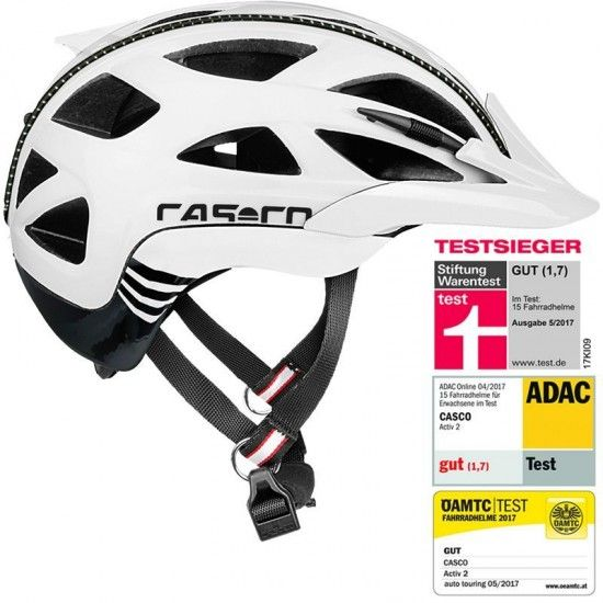 Casco Activ 2 Cycling - Helmet White-Black