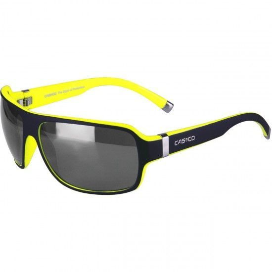 Casco Sx-61 Bike-/ Sport Eyewear Black/Neon Yellow