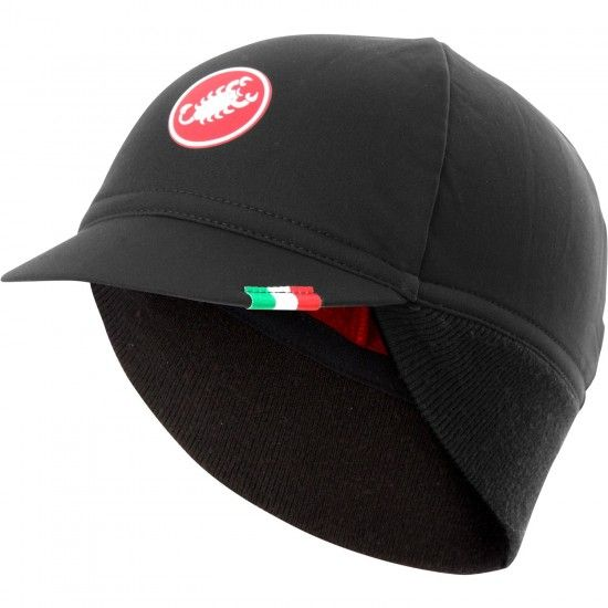Castelli Difesa Thermal Cycling Cap Black