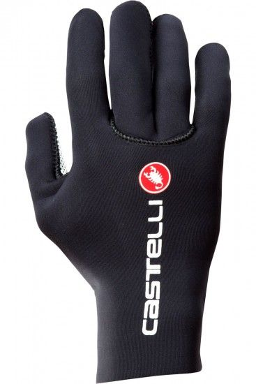 Castelli Diluvio C Long Finger Cycling Gloves Black