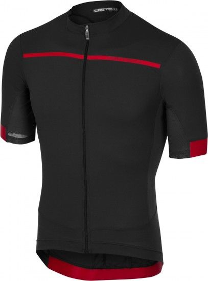 Castelli Forza Pro - Short Sleeve Cycling Jersey Anthracite