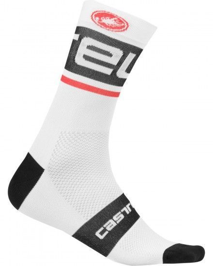 Castelli Free Kit 13 Cycling Socks White/Black