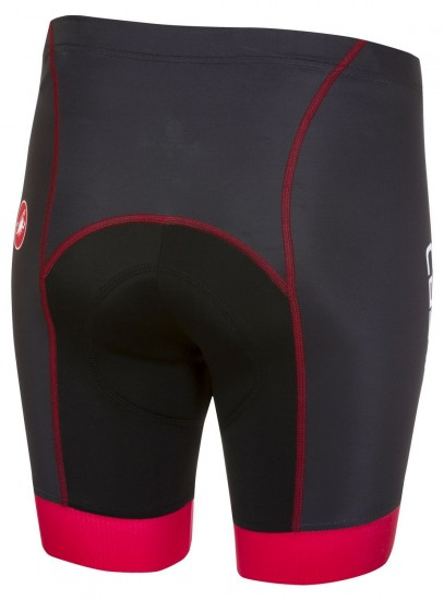 Castelli Future Racer Kid Cycling Shorts Black/Red