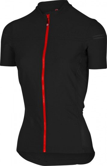 Castelli Promessa 2 - Womens Short Sleeve Cycling Jersey Black