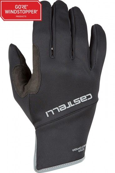 Castelli Scalda Pro Long Finger Cycling Gloves Black