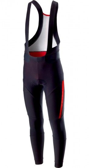 Castelli Sorpasso 2 Cycling Bib Tights Black/Red