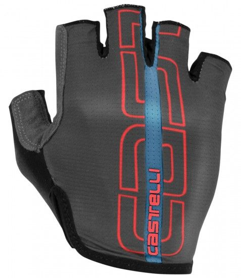 Castelli Tempo - Short Finger Cycling Gloves Dark Gray