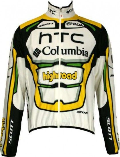 Nalini Columbia 2010 Professional Cycling Team - Jacket/Winterjacket