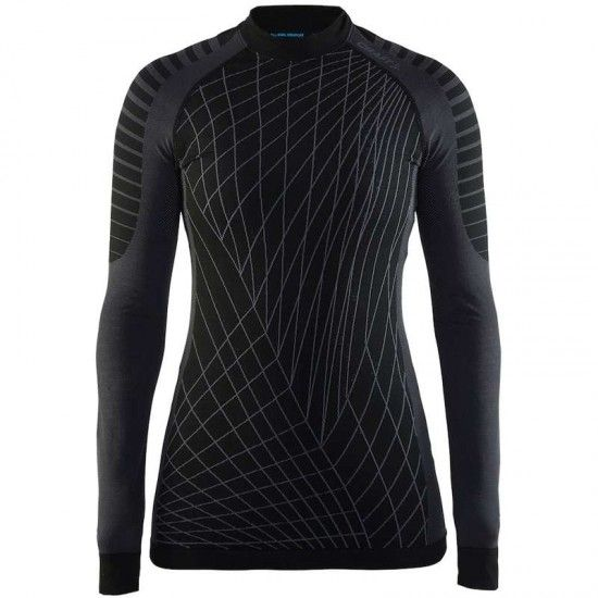 Craft Active Intensity Crewneck Womens Long Sleeve Undershirt Black (1905333-999985)