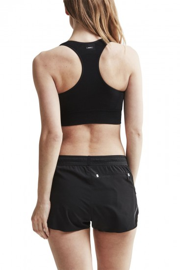 Craft Fuseknit Mid Impact Sports Bra Black (1907185-999000)