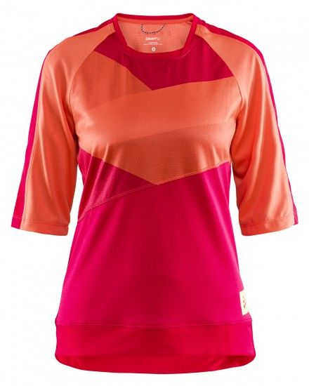Craft Hale Xt Womens Short Sleeve Cycling Jersey Pink (1907128-734735)