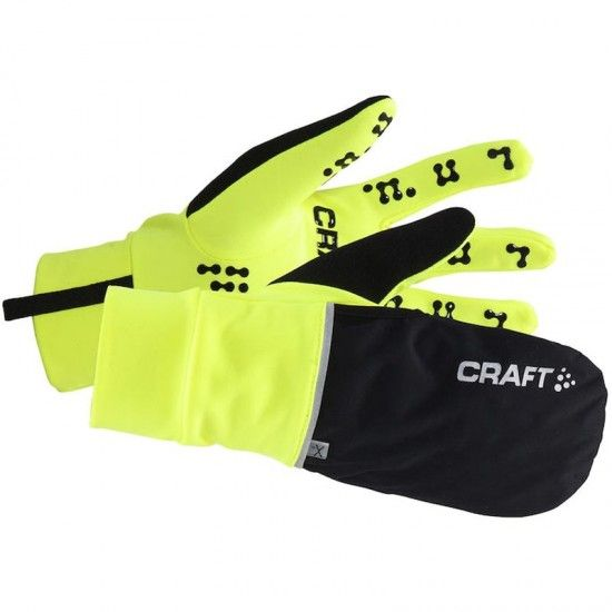 Craft Hybrid Weather Glove 2-In-1 Cycling Winter Gloves Flumino (2851)