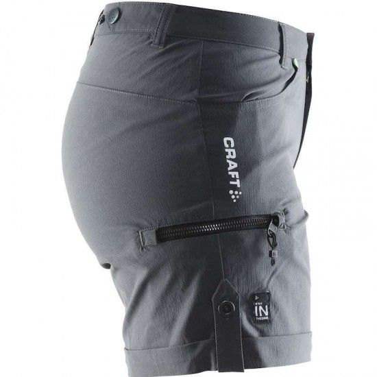 Craft In The Zone Shorts Womens Granite (1902647-2985)