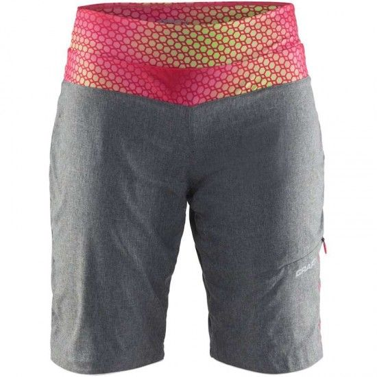 Craft Velo Xt Womens Bike Shorts Grey Melange (1904980-2975)