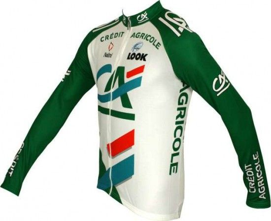 Nalini Credit Agricole 2005 Tricot (Jersey Long Sleeve) - Professional Cycling Team