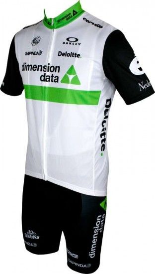 Moa Dimension Data 2016 Strap Trousers - Professional Cycling Team