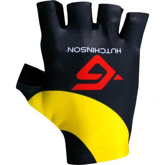 Alé Direct Energie 2017 Short Finger Gloves - Ale Professional Cycling Team