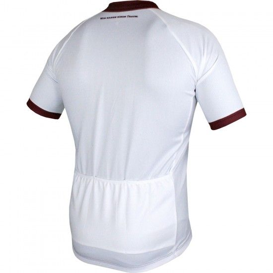 Craft Dynamo Dresden - Away - Short Sleeve Cycling Jersey White/Burgundy