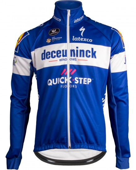 Vermarc Deceuninck-Quick-Step 2019 Winter Cycling Jacket - Professional Cycling Team