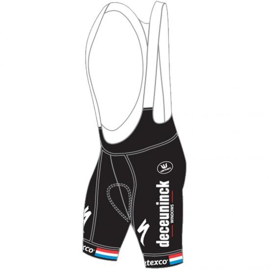 Vermarc Deceuninck-Quick-Step Luxembourgian Champ 2019 Bib Shorts - Professional Cycling Team