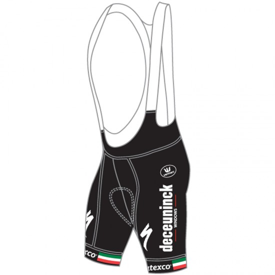 Vermarc Deceuninck-Quick-Step Italian Champ 2019 Bib Shorts - Professional Cycling Team
