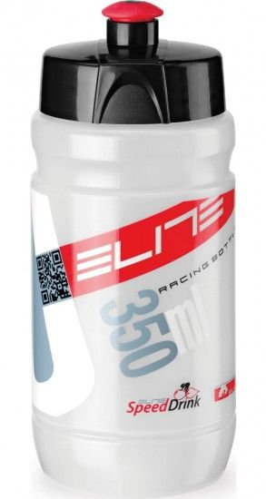 Elite Corsetta Waterbottle 350Ml Clear/Red