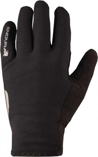 Endura Cycling Long Finger Gloves Thermolite Roubaix Black