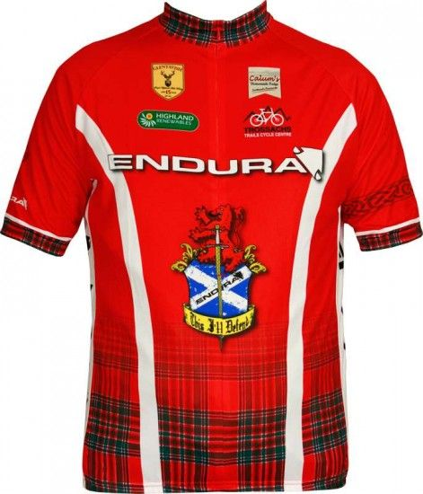 Endura Short Sleeve Jersey Clan For Kids