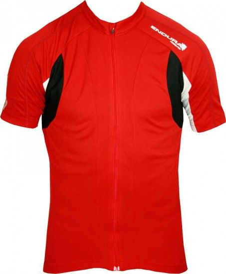 Endura Short Sleeve Jersey Fs260-Pro Ii Red