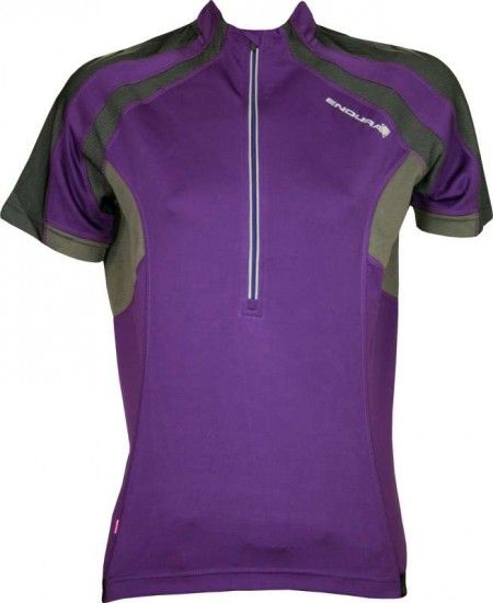 Endura Woman Mtb-Short Sleeve Jersey Wms Hummvee Purple