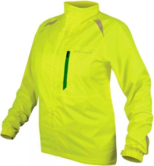 Endura Womens Rain Jacket Wms Gridlock Ii Hi-Viz Yellow